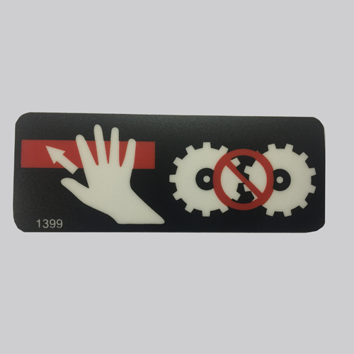 ID1399 - Decal , Push to Stop